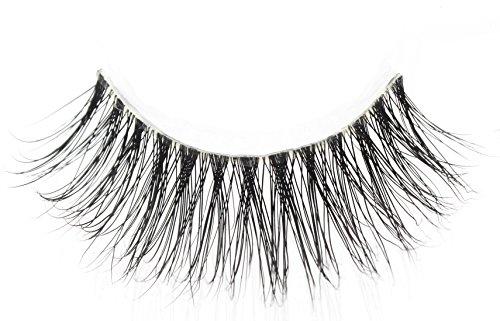 3D Volume Hand-made 100% Siberian Mink fur Reusable Elegant False Eyelashes extension(WS01)