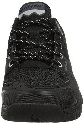 Hi-Tec Men's V-Lite Wild-Life Waterproof Low Rise Hiking Boots Black (Black/Cool Grey) 9E1bk