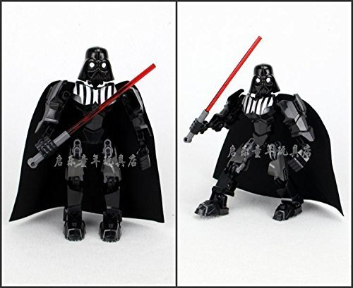 [2015 new XSZ 512 Star Wars Darth Vader 20cm high Minifigure Building Block Toys children gift Action Figure Compatible With] (Arrest Shoes Adult)