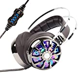 PC Gaming Headphones - KINDEN USB 3.0 Over-ear...