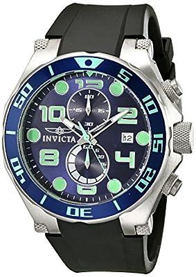 Invicta Men's 17813 Pro Diver Analog Display Quartz Black Watch