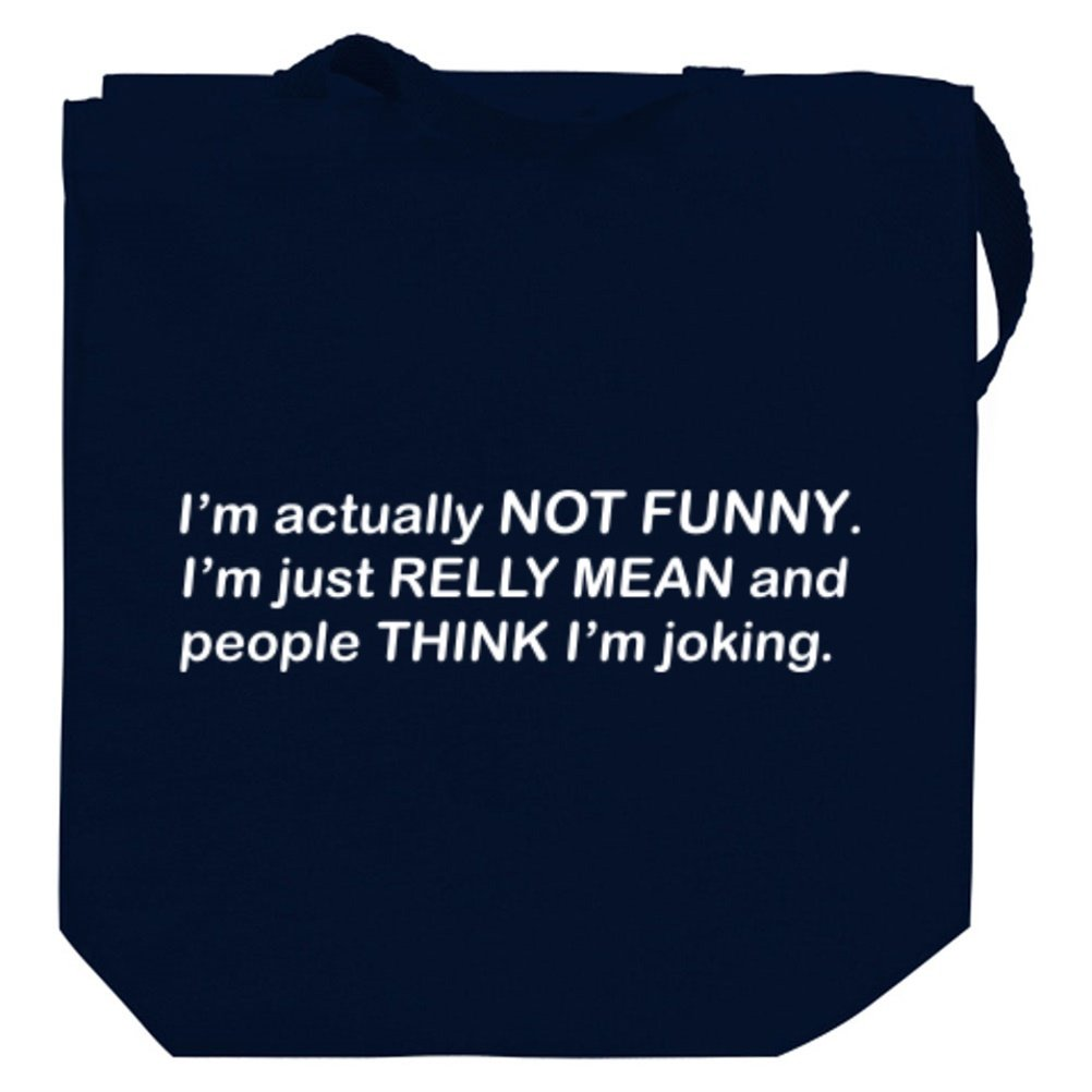 Actually not funny Canvas Tote Bag