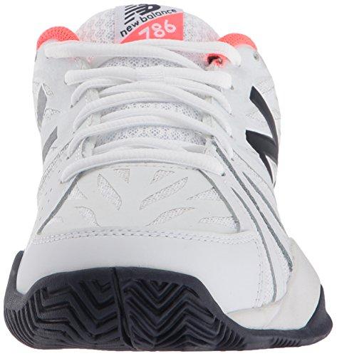 Nieuw Evenwicht Vrouwen 786v2 Tennisschoen Levendig Koraal / Wit