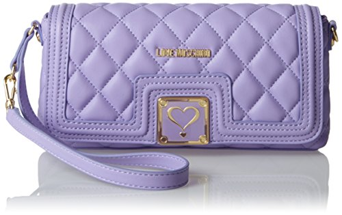 Jc4003 Clutch Lavender Moschino Women's Purple Love zC6gqwE