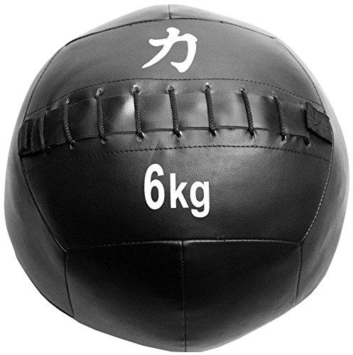 Strength Shop Balones Medicinales/Wall Balls, Negro, 6 kg: Amazon ...