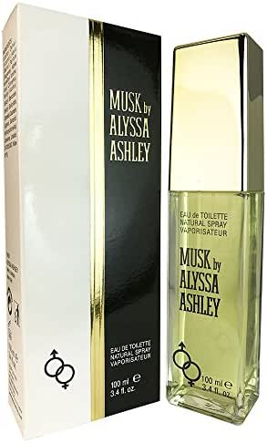 Alyssa Ashley Musk By Alyssa Ashley For Women. Eau De Toilette Spray 3.4 Ounces