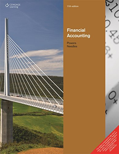 Financial Accounting 11th Edition