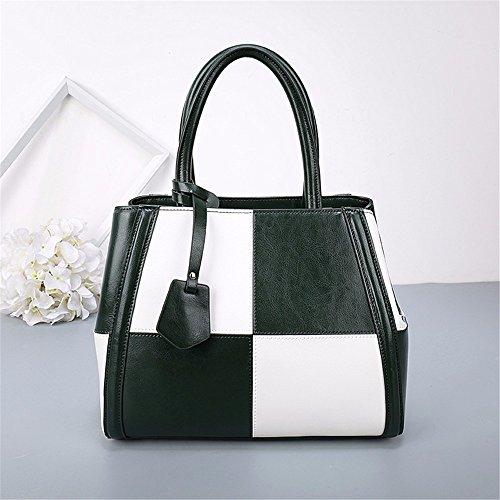 Single Schulter cross Bag female bag European Fashion Leder ram Tasche großer Kapazität einzelne Schultertasche, 29 * 14 * 22 cm B