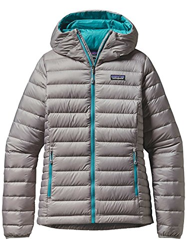 Patagonia Down Sweater Jacket (Patagonia Mens W's Down Sweater Hoody, Drifter Grey, L)