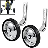Corgy 2-Pcs Universal 12 to 20-Inch Bicycle Training Wheels(US Stock)