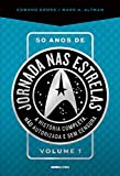 capa de 50 Anos de Jornada nas Estrelas - Volume 1