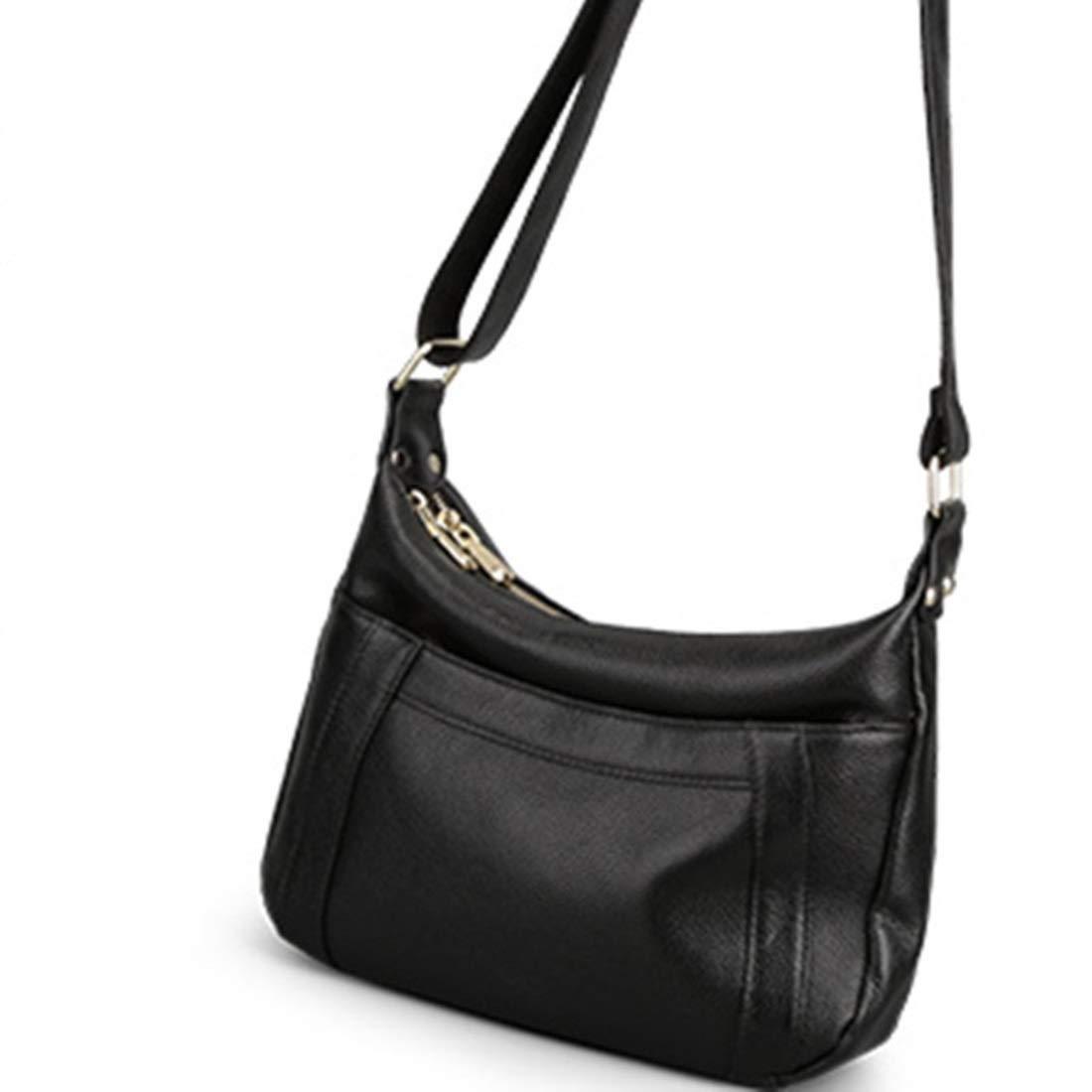 Klerokoh Damen Umhängetasche Hobo Handtasche Crossbody Taschen für Damen Large Big OverGröße für Damen (Farbe   schwarz) B07QJWZ3MJ Umhngetaschen Modestamm