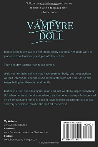 Vampyre Doll: Book One In The Velicious Series (Volume 1