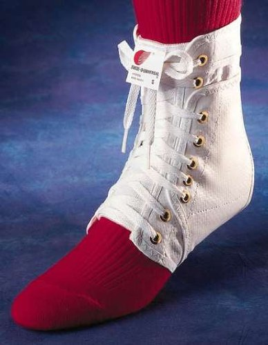 Swede-O Ankle Lok Lace-Up Ankle Brace, without inserts, White, Small