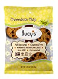 Dr. Lucy's Gluten Free, Dairy Free, All Natural, Non-GMO Chocolate Chip Grab n' Go Cookies 1.25 oz-Pack of 24