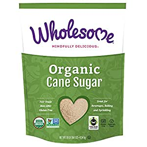 Wholesome Sweeteners Organic Cane Sugar, 10 Pound
