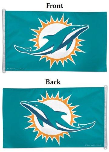 (Wincraft NFL Miami Dolphins Flag, 3 x 5-Feet)