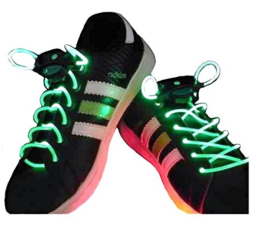 8efad41729 LED SHOE LACES IN DIFFERENT COLORS   GREEN