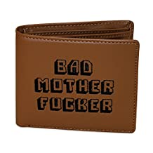 Pulp Fiction Bad Mother Fucker leather wallet