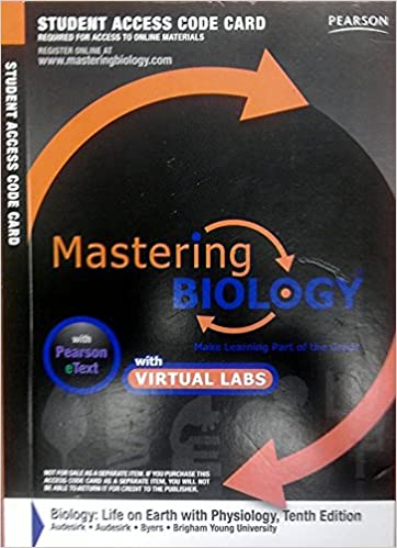 Amazon Mastering Biology With Pearson Etext With Mastering