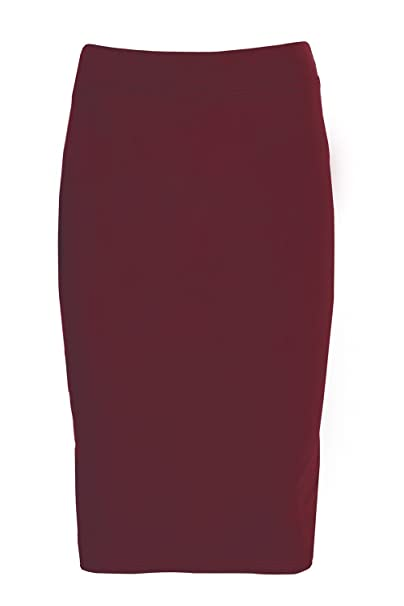 f343441f26 Amazon.com  Esteez Girls Modest Lightweight Cotton Lycra Knee Pencil skirt   Clothing