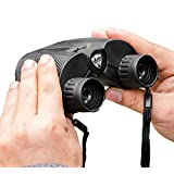 Powerful Binoculars: Best Compact Mini Binocular With Zoom Lens for Bird Watching, Concert Theater, Sports Game Hunting Field Glasses Vision. Includes Harness Strap & Case For Adults, Men Women & Kids