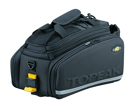 Topeak MTX Trunk Bag DXP Bicycle Trunk Bag with Rigid Molded (Topeak Mtx Rear Basket)