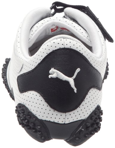 Puma Mostro Perf Leather Herren Sneaker Weiß (Blanc (01White/Black))
