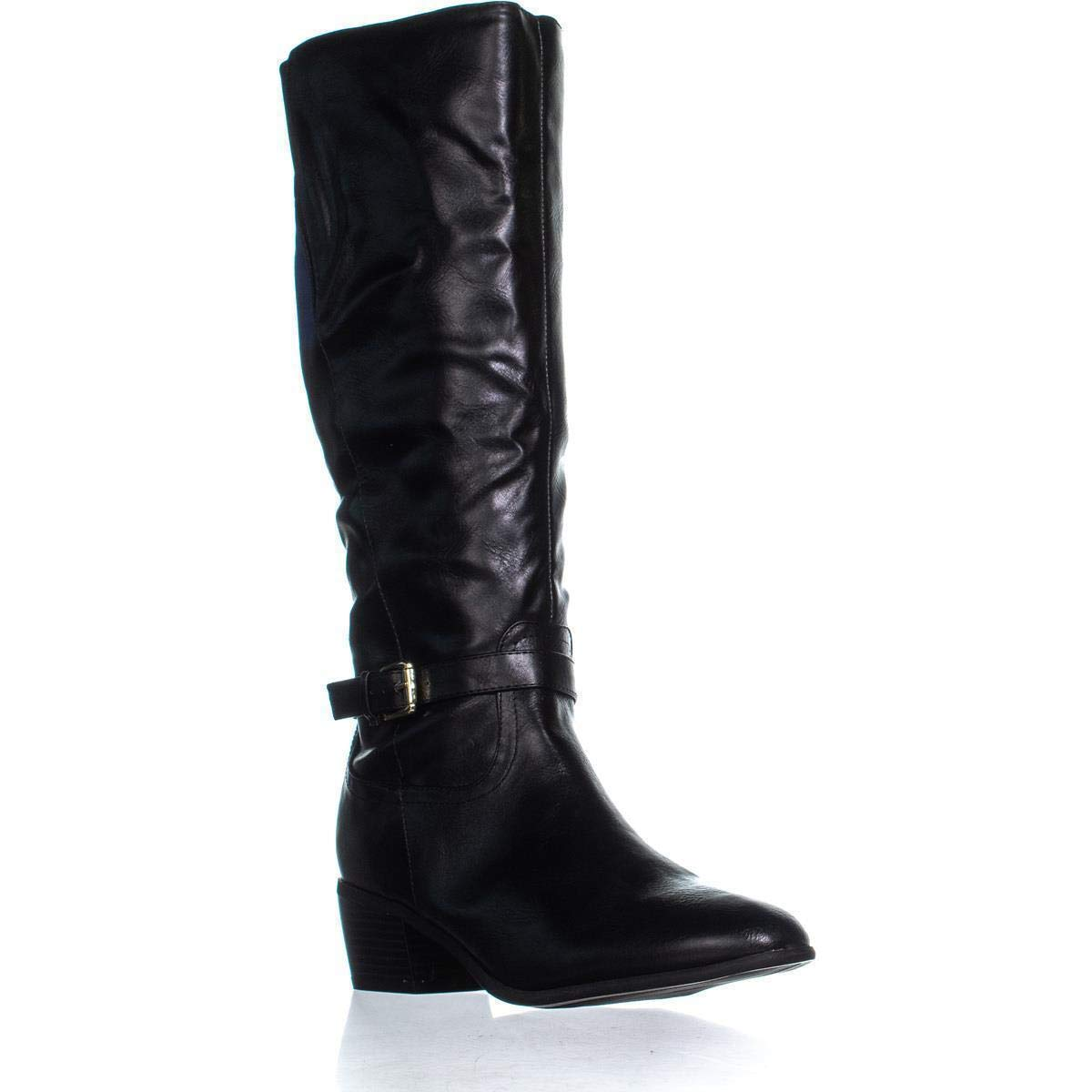 Black Karen Scott KS35 Fayth Below The Knee Riding Boots, Black