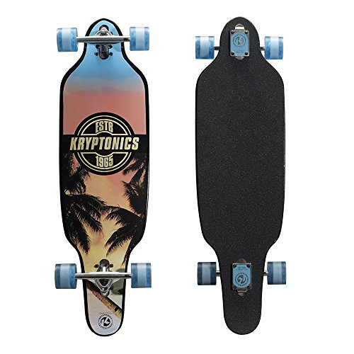 Kryptonics Drop-Through Longboard 37
