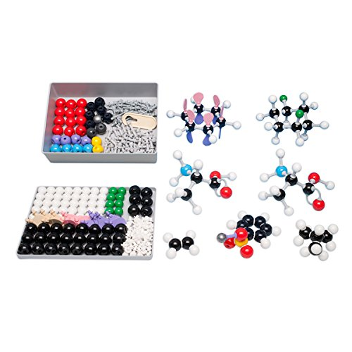Molymod MMS-003 Organic Chemistry Molecular Model, Teacher Set (111 atom parts) by Molymod (Image #1)