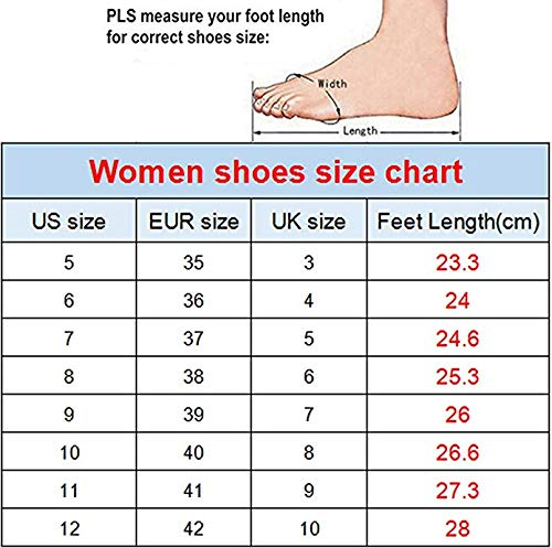 KiuLoam Fashionable Pink Rose Floral Womens Athletic Mesh Breathable Sneakers Running Sports Shoes for Lady Girls Teens