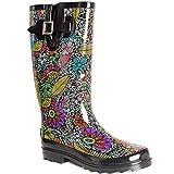 Lara's Women Wellies Garden Tall Rain Boots US 11