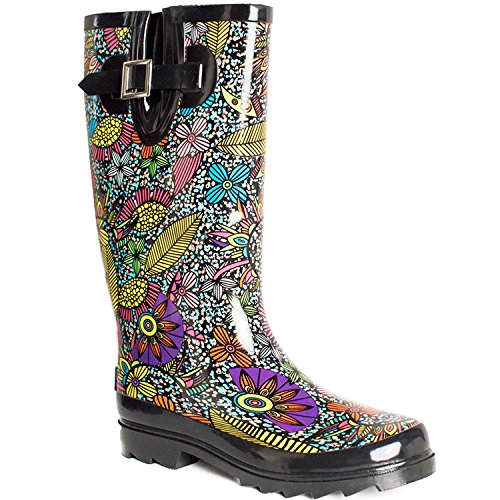 Lara's Women Wellies Garden Tall Rain Boots US 11 by Lara's