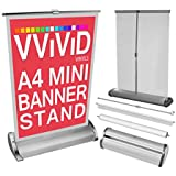 """8.5\ x 11\ Retractable Stand : VViViD Graphic Display Banner Stands (8.5"""" x 11"""" Retractable Stand)"""