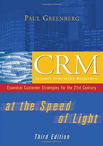 CRM at the Speed of Light, 3e pdf epub