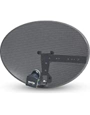 Sold Online Full Z1 OR Z2 Sky & Freesat Satellite Dish Kit (Z1 WITH QUAD LNB)