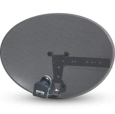 Sold Online Full Z1 OR Z2 Sky & Freesat Satellite Dish Kit (Z1 WITH QUAD LNB)