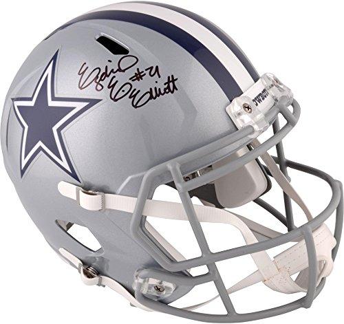 (Ezekiel Elliott Dallas Cowboys Autographed Riddell Speed Replica Helmet - Fanatics Authentic)