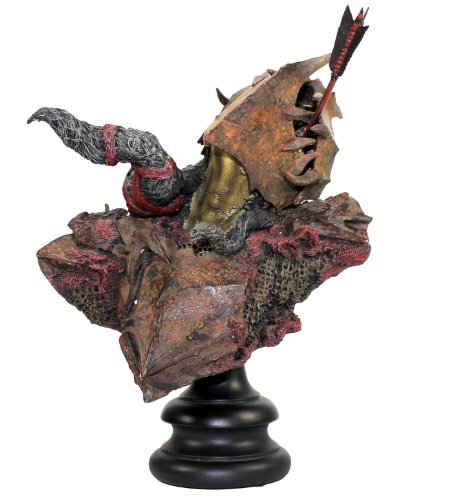 Lord of the Rings The Fellowship of the Rings Moria Orc Archer Sideshow Weta 1/4 Scale Polystone Bust