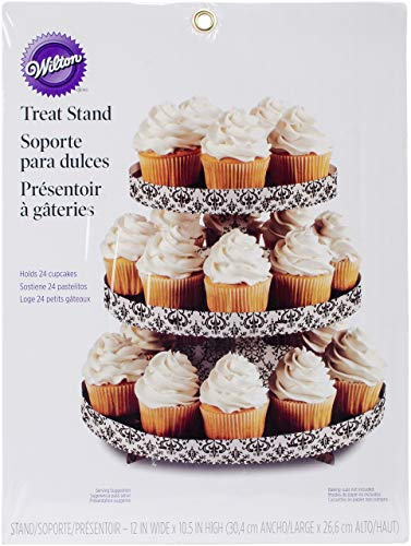 (Wilton 1512-0703 1 Count Treat/Cake Stand,)