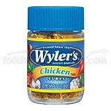 Wylers Chicken Bouillon Cubes - 360 per case.