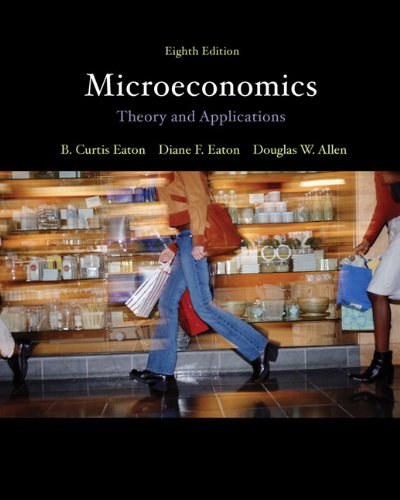 Microeconomics: theory with applications, 8th, eaton, b. Curtis et.