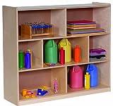 Steffy Wood Products 3-Shelf Storage, 42-Inch