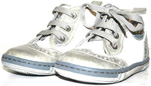 Cherie , Chaussures de ville à lacets pour garçon Blanc Blanc