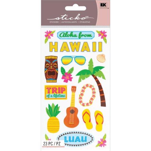 - Sticko Classic Stickers, Hawaiian Dream