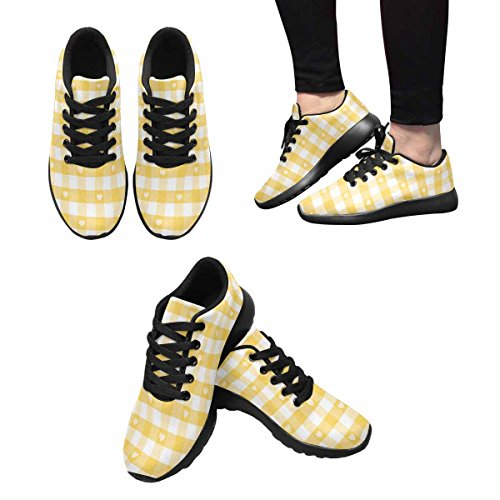 InterestPrint Womens Jogging Running Sneaker Lightweight Go Easy Walking Comfort Sports Running Shoes Multi 12 dHtasQ