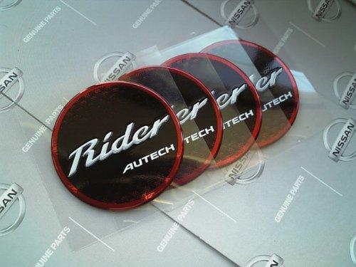 日産純正 オーテック RIDER ホイールセンターキャップエンブレム E12 E11 ノート NOTE B00JI8JX0S