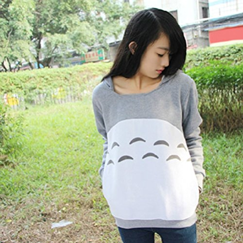 612a93462a Rain s Pan Anime Spirited Away Totoro Casual Fleece Hoody Sweatshirt Hoodie  for Teens well-wreapped