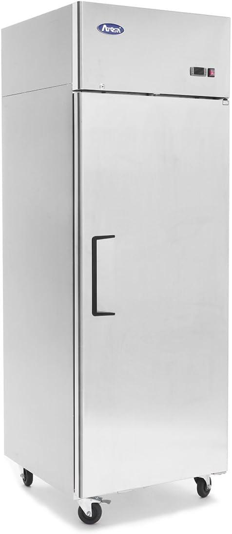 Atosa MBF8001 Top Mount 1-Door Upright Freezer 2 Year PARTS + LABOR / 5 Year Compressor WARRANTY